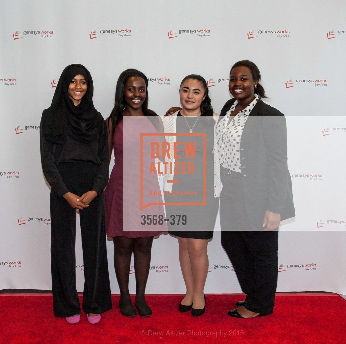 Fatimah Dalil, Tyanna Davis, Courtney Butler, Genesys Works Bay Area Presents BREAKING THROUGH, St. Regis Hotel. 125 3rd St, October 14th, 2015,Drew Altizer, Drew Altizer Photography, full-service agency, private events, San Francisco photographer, photographer california