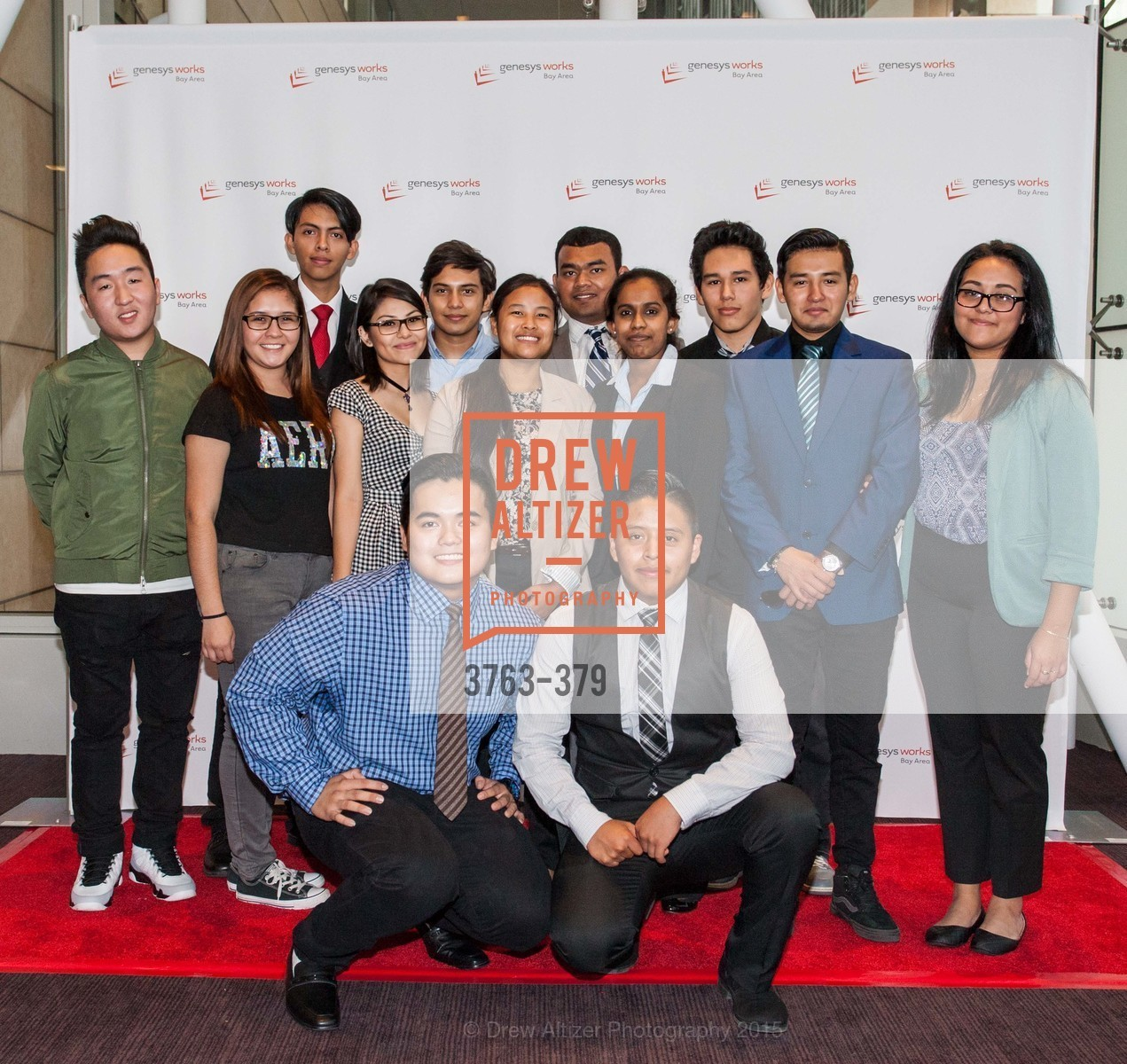 Group Photo, Genesys Works Bay Area Presents BREAKING THROUGH, St. Regis Hotel. 125 3rd St, October 14th, 2015