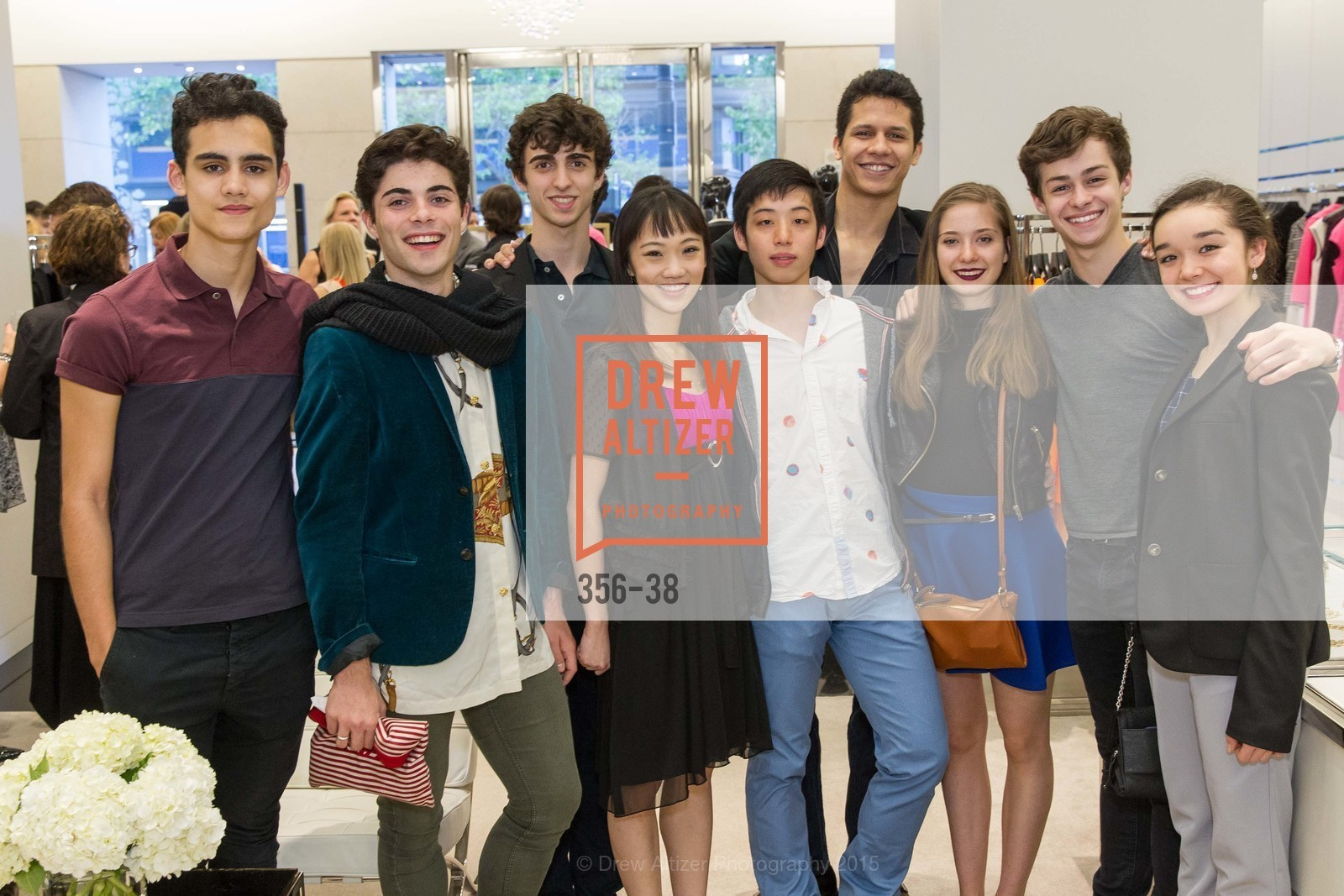 Daniel Domench, Davide Occhibinti, Chisako Oga, Haruo Niniya, Adriel Diniz, Anastasia Kubanda, Blake Kessler, Natasha Sheehan, Daniel Mccormickk, SF BALLET at St. John Boutique, Four Seasons Hotel. 767A Market Street, Suite B, April 15th, 2015,Drew Altizer, Drew Altizer Photography, full-service agency, private events, San Francisco photographer, photographer california