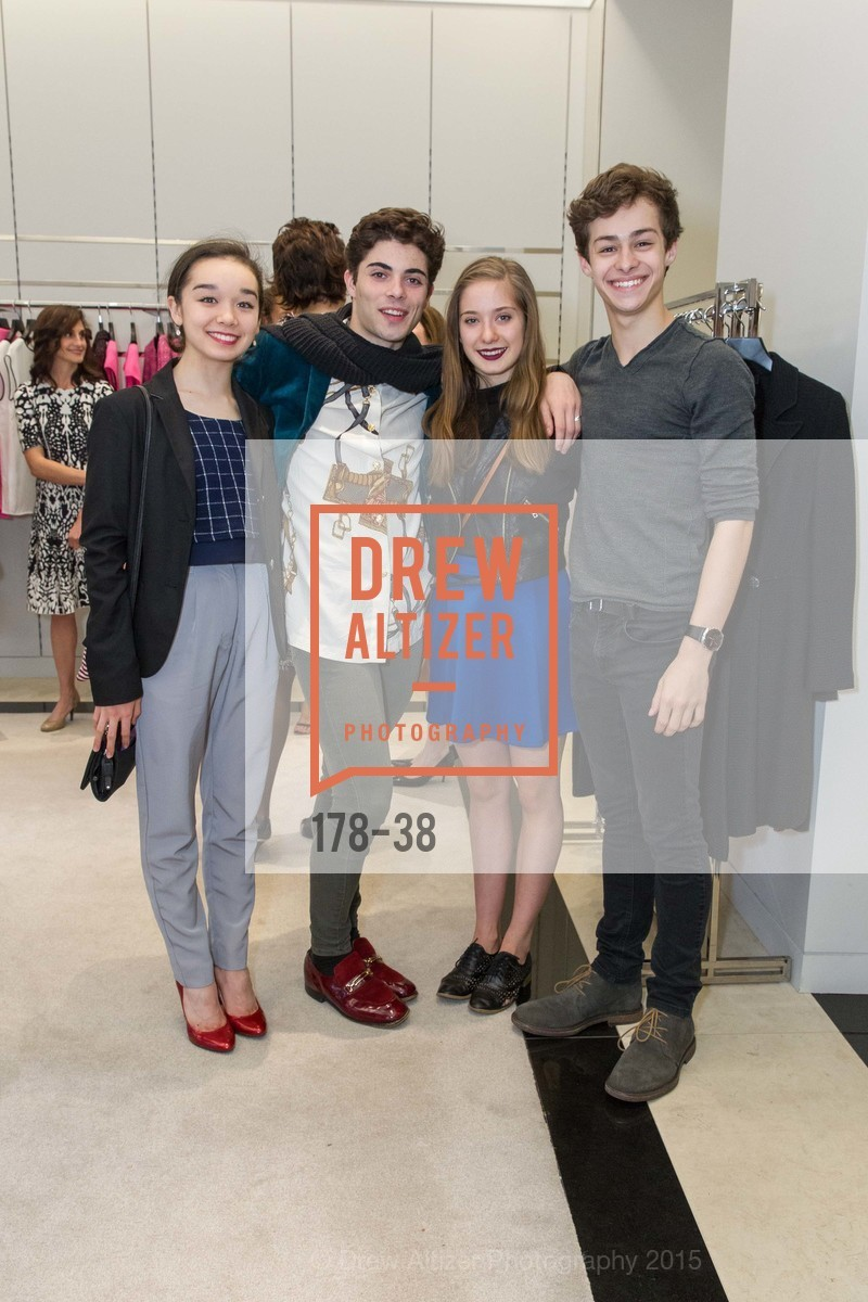 Natasha Sheehan, Daniel Domench, Anastasia Kubanda, Blake Kessler, SF BALLET at St. John Boutique, Four Seasons Hotel. 767A Market Street, Suite B, April 15th, 2015,Drew Altizer, Drew Altizer Photography, full-service agency, private events, San Francisco photographer, photographer california