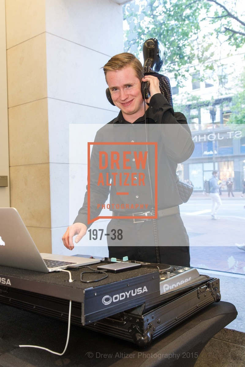 Dj, SF BALLET at St. John Boutique, Four Seasons Hotel. 767A Market Street, Suite B, April 15th, 2015,Drew Altizer, Drew Altizer Photography, full-service agency, private events, San Francisco photographer, photographer california
