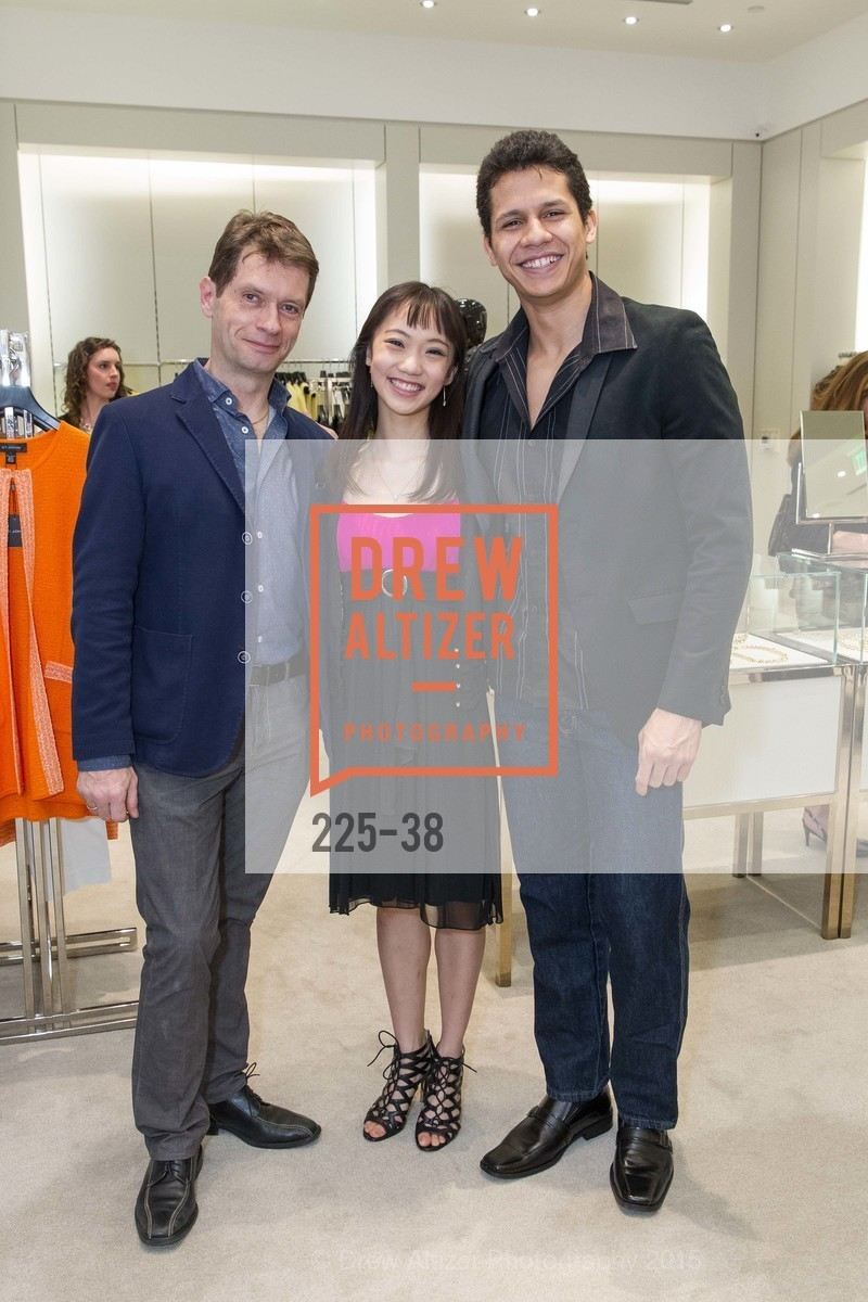 Patrick Armand, Chisako Oga, Adriel Diniz, SF BALLET at St. John Boutique, Four Seasons Hotel. 767A Market Street, Suite B, April 15th, 2015,Drew Altizer, Drew Altizer Photography, full-service agency, private events, San Francisco photographer, photographer california