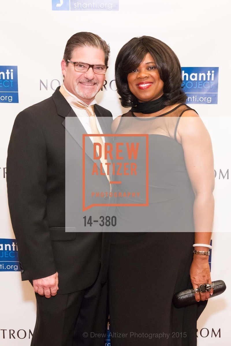 Michael Brescia, Jacqueline Brescia, Shanti Project 41st Annual Compassion is Universal Dinner, Palace Hotel. 2 New Montgomery St, October 14th, 2015,Drew Altizer, Drew Altizer Photography, full-service agency, private events, San Francisco photographer, photographer california