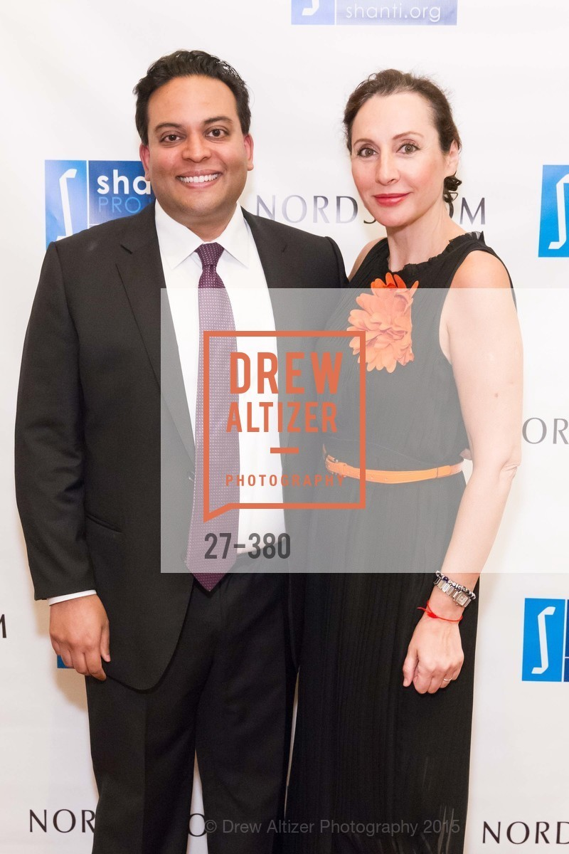 Kaushik Roy, Clara Shayevich, Shanti Project 41st Annual Compassion is Universal Dinner, Palace Hotel. 2 New Montgomery St, October 14th, 2015,Drew Altizer, Drew Altizer Photography, full-service agency, private events, San Francisco photographer, photographer california