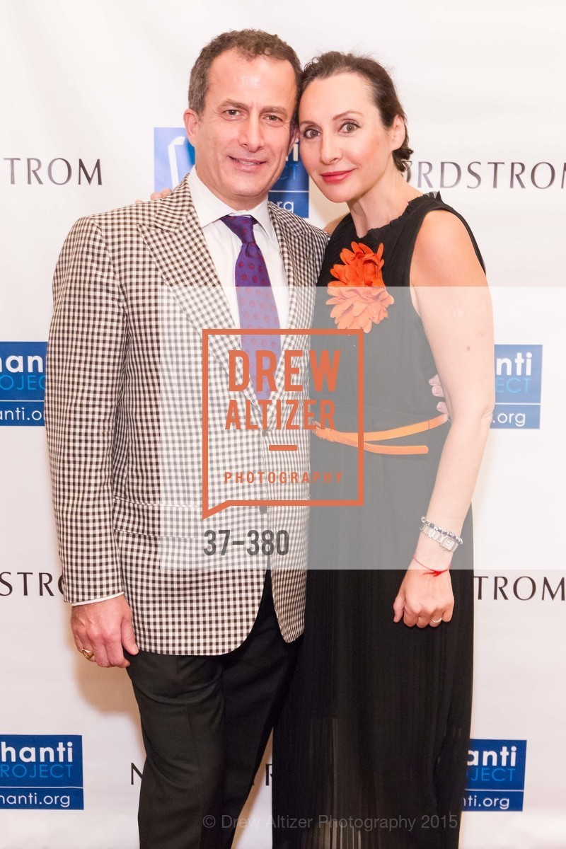 Jorge Maumer, Clara Shayevich, Shanti Project 41st Annual Compassion is Universal Dinner, Palace Hotel. 2 New Montgomery St, October 14th, 2015,Drew Altizer, Drew Altizer Photography, full-service agency, private events, San Francisco photographer, photographer california