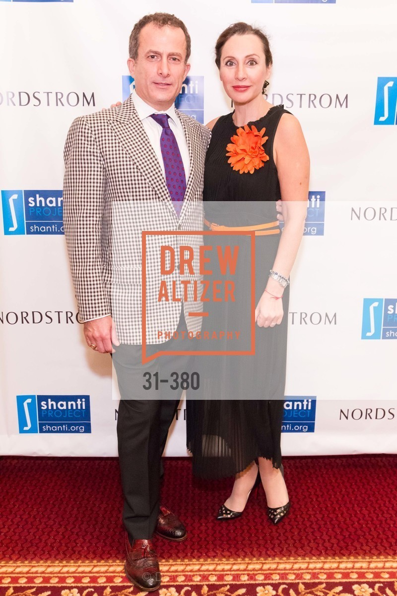 Jorge Maumer, Clara Shayevich, Shanti Project 41st Annual Compassion is Universal Dinner, Palace Hotel. 2 New Montgomery St, October 14th, 2015,Drew Altizer, Drew Altizer Photography, full-service event agency, private events, San Francisco photographer, photographer California