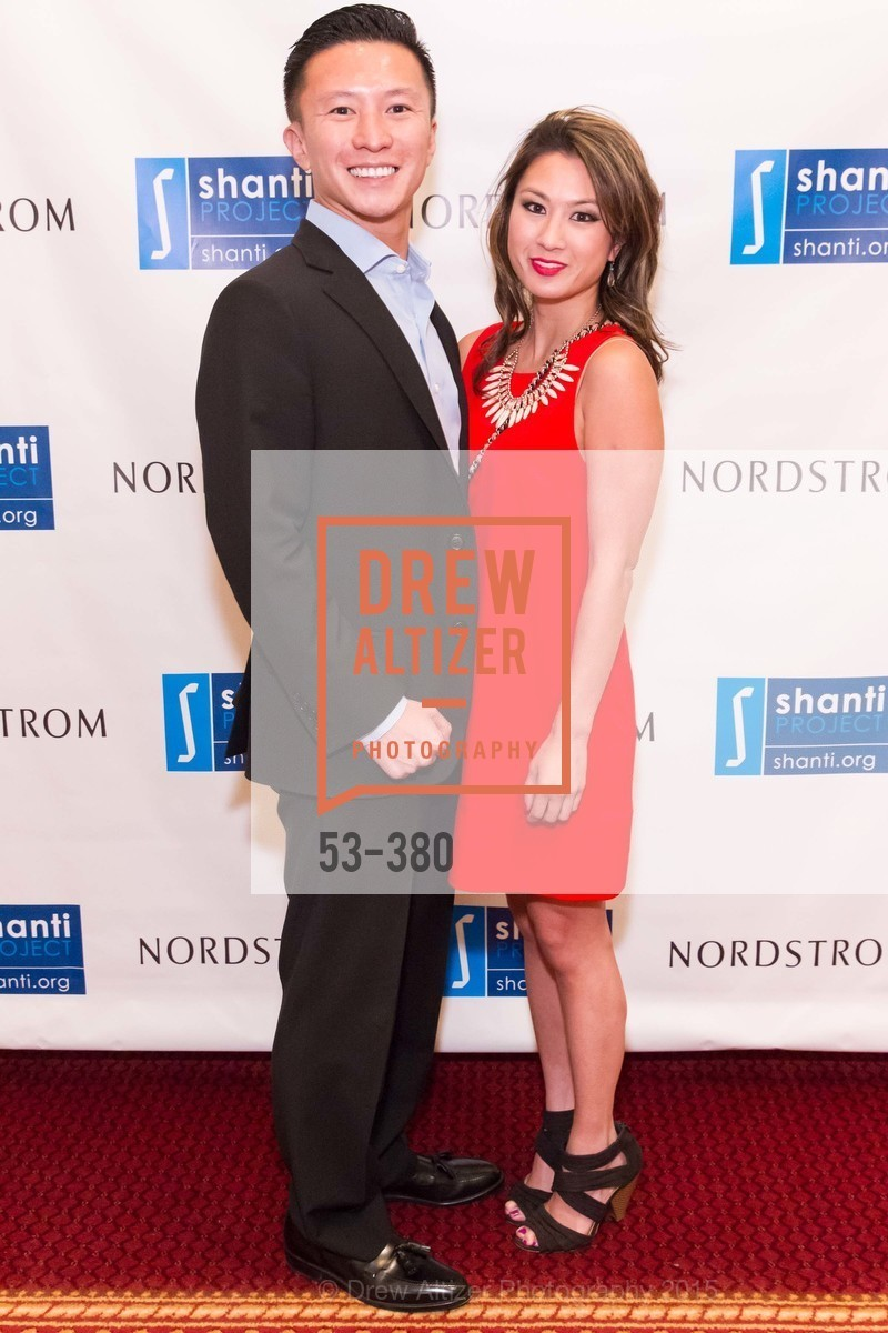 Patrick Lam, Stephanie Lam, Shanti Project 41st Annual Compassion is Universal Dinner, Palace Hotel. 2 New Montgomery St, October 14th, 2015,Drew Altizer, Drew Altizer Photography, full-service agency, private events, San Francisco photographer, photographer california
