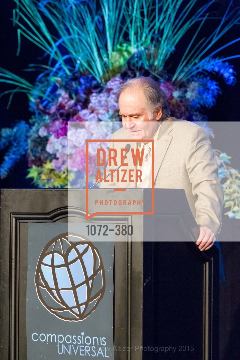 Charles Garfield, Shanti Project 41st Annual Compassion is Universal Dinner, Palace Hotel. 2 New Montgomery St, October 14th, 2015,Drew Altizer, Drew Altizer Photography, full-service agency, private events, San Francisco photographer, photographer california