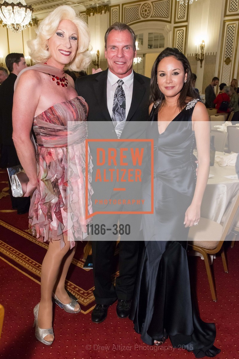 Donna Sachet, Robert Sablatura, Bahya Oumil-Murad, Shanti Project 41st Annual Compassion is Universal Dinner, Palace Hotel. 2 New Montgomery St, October 14th, 2015,Drew Altizer, Drew Altizer Photography, full-service agency, private events, San Francisco photographer, photographer california
