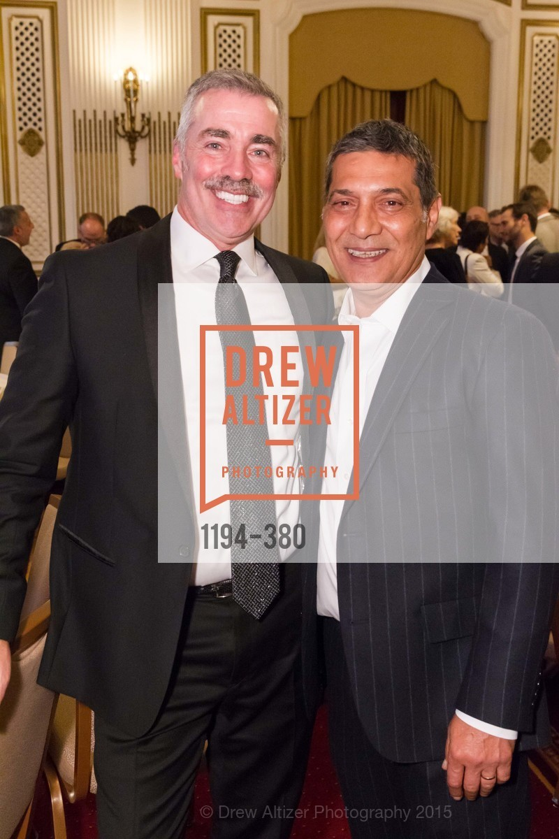 Lenny Broberg, Gus Murad, Shanti Project 41st Annual Compassion is Universal Dinner, Palace Hotel. 2 New Montgomery St, October 14th, 2015,Drew Altizer, Drew Altizer Photography, full-service agency, private events, San Francisco photographer, photographer california