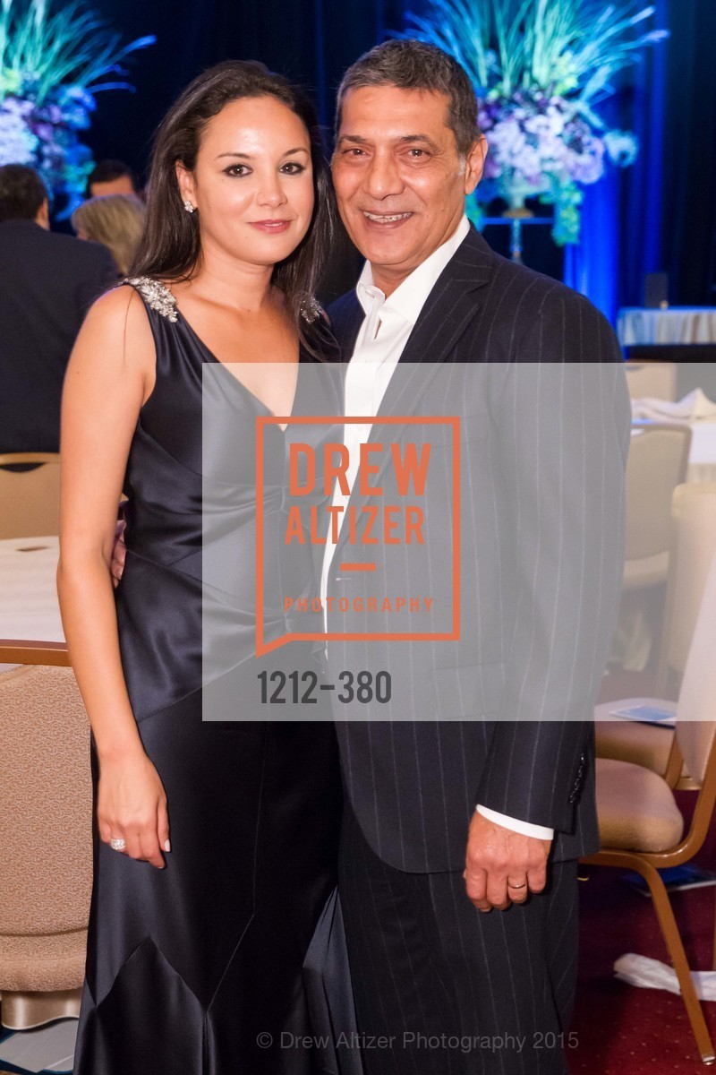 Bahya Oumil-Murad, Gus Murad, Shanti Project 41st Annual Compassion is Universal Dinner, Palace Hotel. 2 New Montgomery St, October 14th, 2015,Drew Altizer, Drew Altizer Photography, full-service agency, private events, San Francisco photographer, photographer california