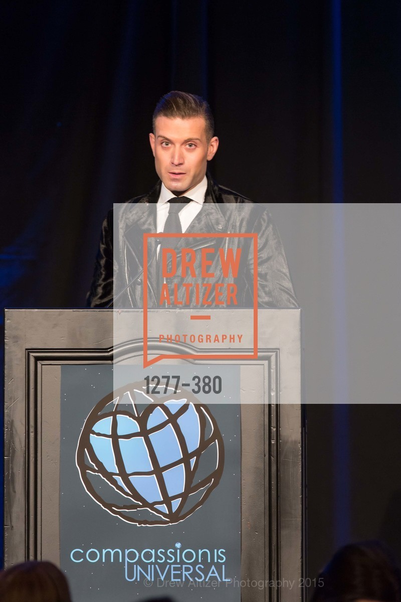 Omar Sharif Jr., Shanti Project 41st Annual Compassion is Universal Dinner, Palace Hotel. 2 New Montgomery St, October 14th, 2015,Drew Altizer, Drew Altizer Photography, full-service event agency, private events, San Francisco photographer, photographer California