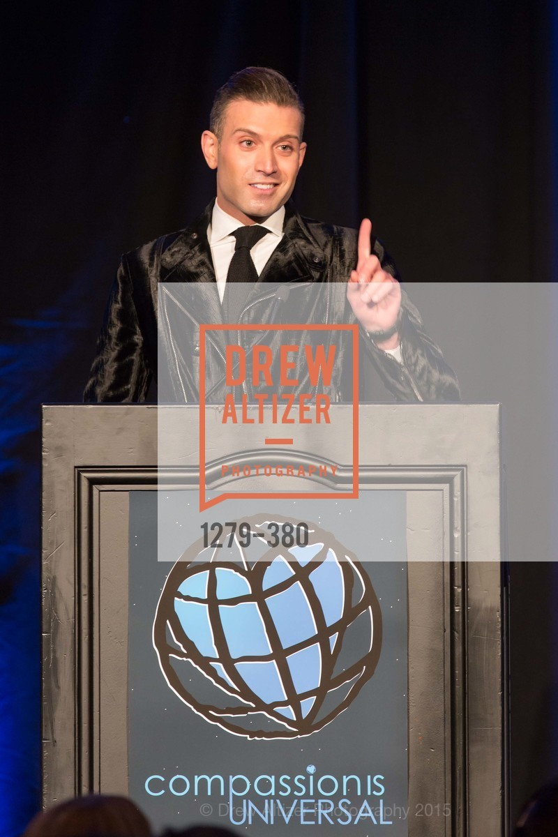 Omar Sharif Jr., Shanti Project 41st Annual Compassion is Universal Dinner, Palace Hotel. 2 New Montgomery St, October 14th, 2015