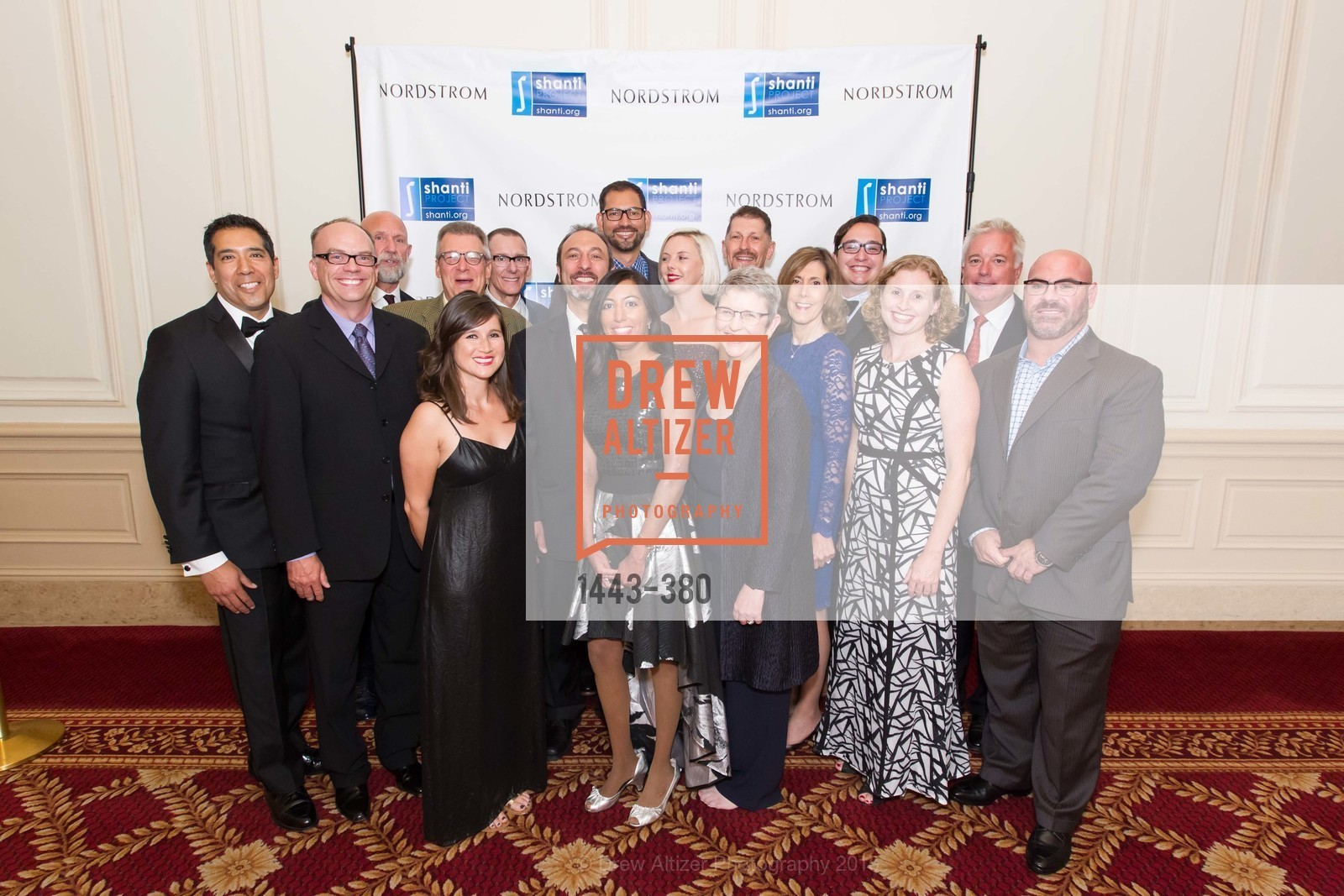 Group Picture, Shanti Project 41st Annual Compassion is Universal Dinner, Palace Hotel. 2 New Montgomery St, October 14th, 2015,Drew Altizer, Drew Altizer Photography, full-service event agency, private events, San Francisco photographer, photographer California