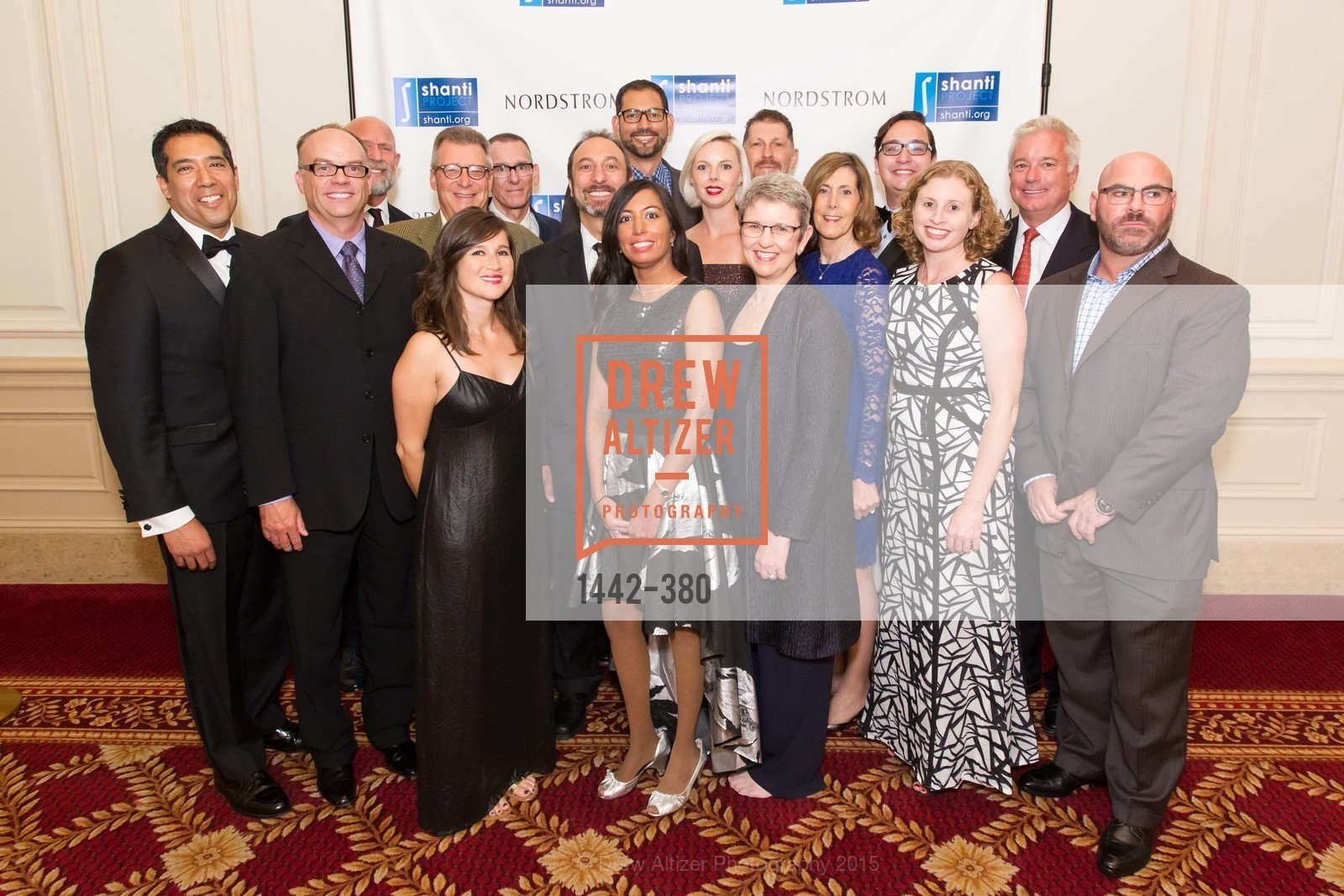 Group Picture, Shanti Project 41st Annual Compassion is Universal Dinner, Palace Hotel. 2 New Montgomery St, October 14th, 2015,Drew Altizer, Drew Altizer Photography, full-service agency, private events, San Francisco photographer, photographer california