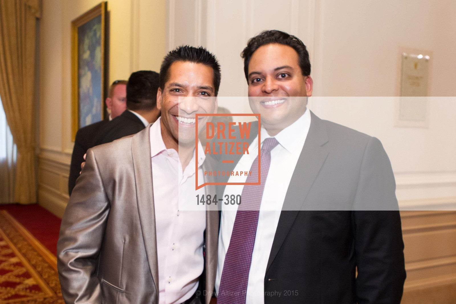 Arun Apte, Kaushik Roy, Shanti Project 41st Annual Compassion is Universal Dinner, Palace Hotel. 2 New Montgomery St, October 14th, 2015,Drew Altizer, Drew Altizer Photography, full-service agency, private events, San Francisco photographer, photographer california