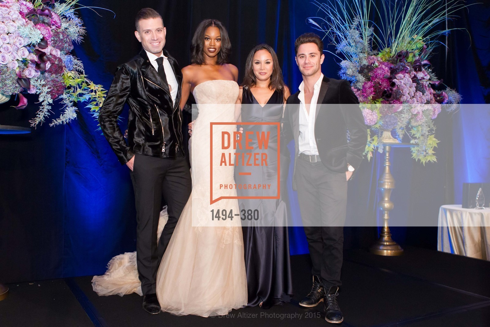 Omar Sharif Jr., Eugena Washington, Bahya Oumil-Murad, Sasha Farber, Shanti Project 41st Annual Compassion is Universal Dinner, Palace Hotel. 2 New Montgomery St, October 14th, 2015,Drew Altizer, Drew Altizer Photography, full-service agency, private events, San Francisco photographer, photographer california