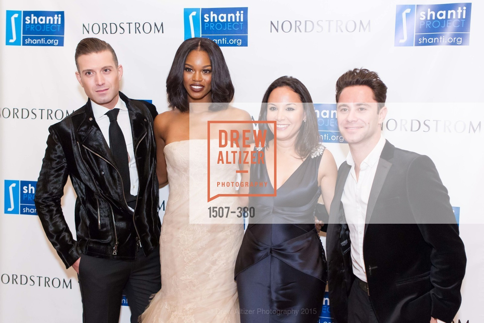 Omar Sharif Jr., Eugena Washington, Bahya Oumil-Murad, Sasha Farber, Shanti Project 41st Annual Compassion is Universal Dinner, Palace Hotel. 2 New Montgomery St, October 14th, 2015,Drew Altizer, Drew Altizer Photography, full-service event agency, private events, San Francisco photographer, photographer California