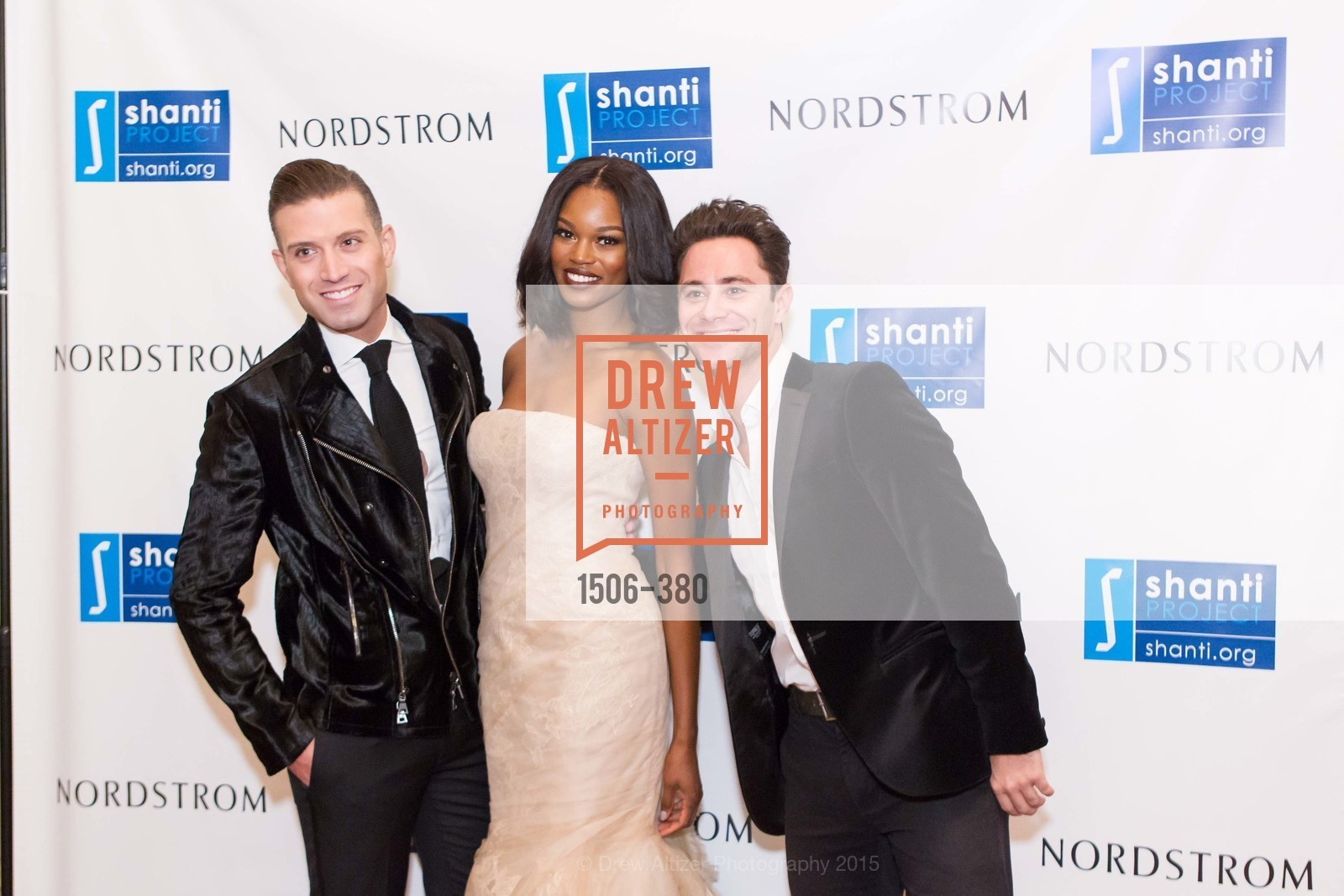 Omar Sharif Jr., Eugena Washington, Sasha Farber, Shanti Project 41st Annual Compassion is Universal Dinner, Palace Hotel. 2 New Montgomery St, October 14th, 2015,Drew Altizer, Drew Altizer Photography, full-service event agency, private events, San Francisco photographer, photographer California