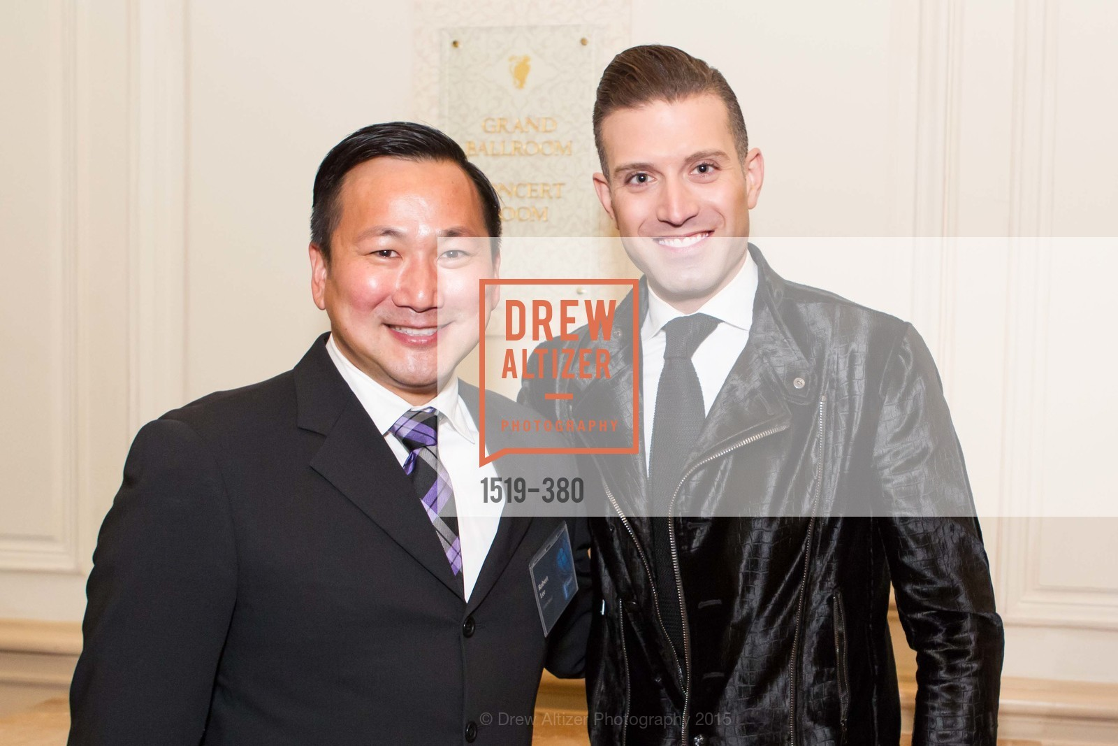 Robert Lee, Omar Sharif Jr., Shanti Project 41st Annual Compassion is Universal Dinner, Palace Hotel. 2 New Montgomery St, October 14th, 2015,Drew Altizer, Drew Altizer Photography, full-service event agency, private events, San Francisco photographer, photographer California