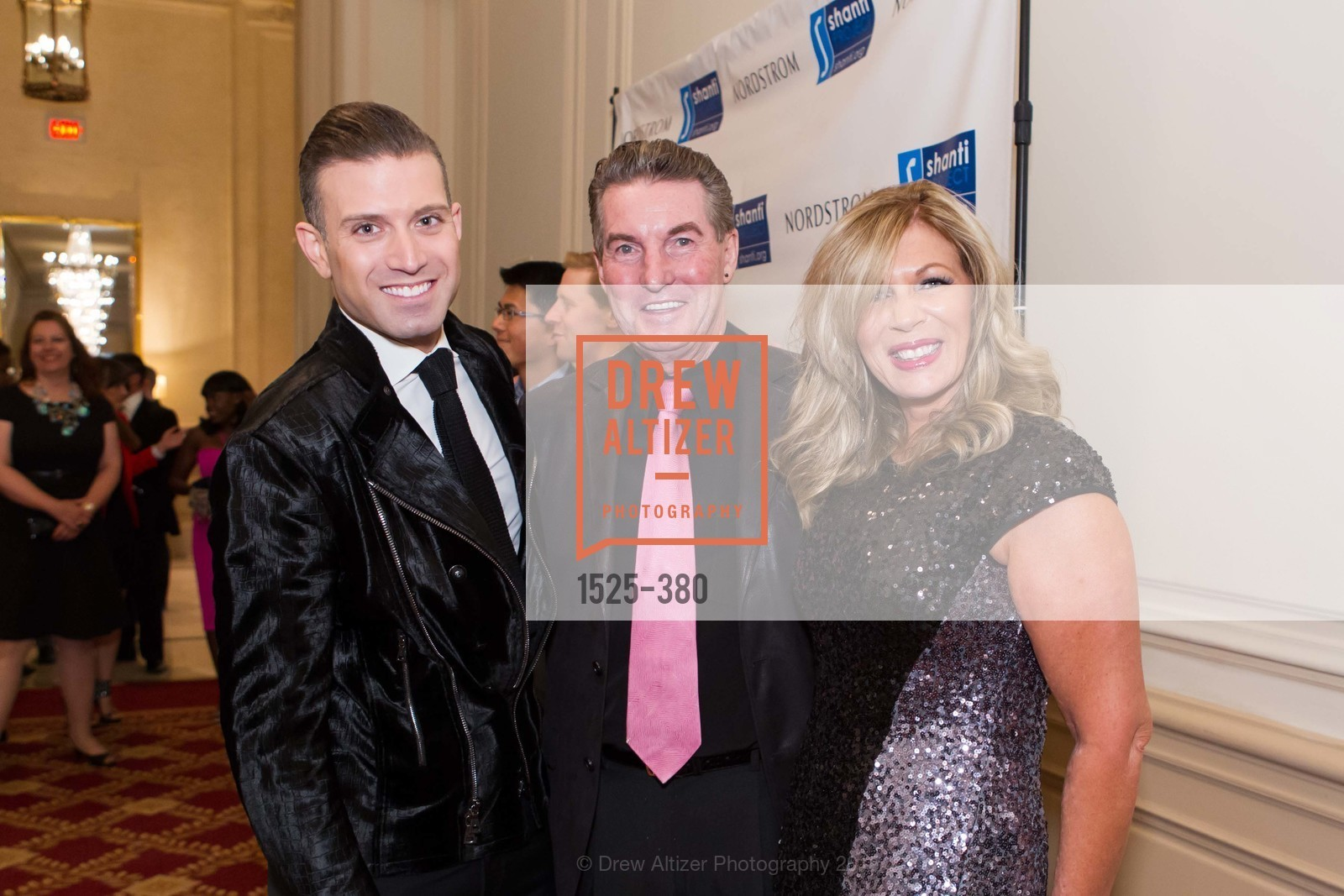 Omar Sharif Jr., Peter Fish, Maggie Laragy, Shanti Project 41st Annual Compassion is Universal Dinner, Palace Hotel. 2 New Montgomery St, October 14th, 2015,Drew Altizer, Drew Altizer Photography, full-service agency, private events, San Francisco photographer, photographer california