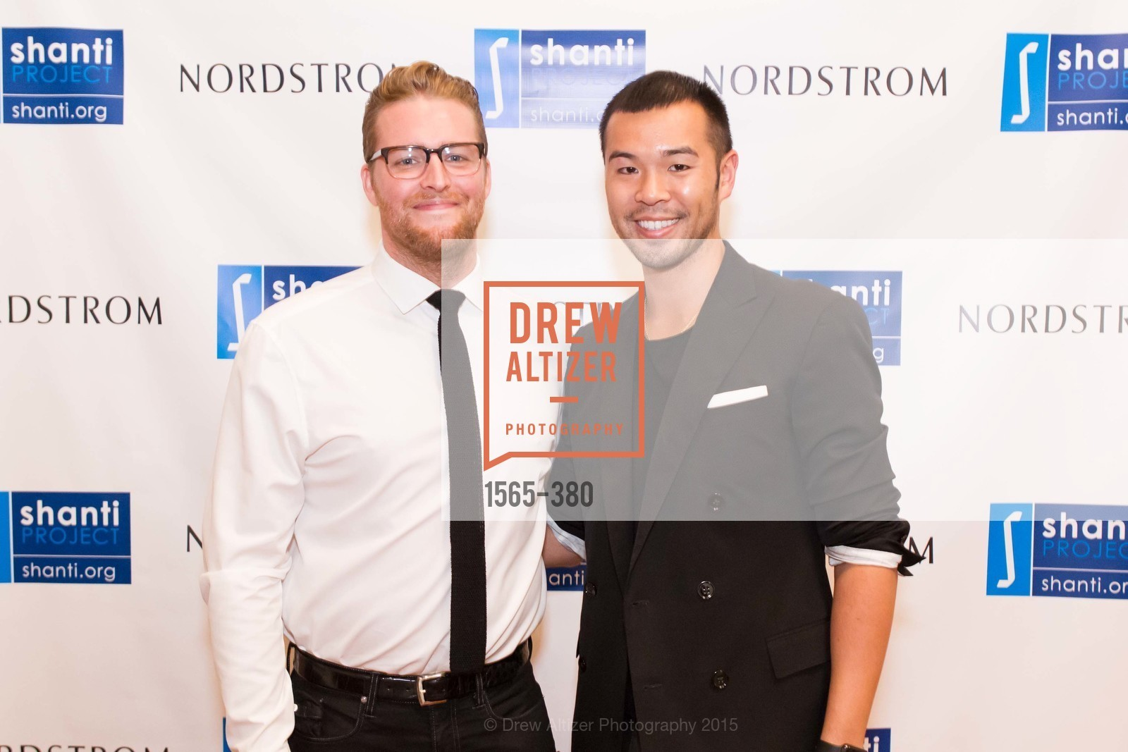 Jared Levan, Lance Lin, Shanti Project 41st Annual Compassion is Universal Dinner, Palace Hotel. 2 New Montgomery St, October 14th, 2015,Drew Altizer, Drew Altizer Photography, full-service agency, private events, San Francisco photographer, photographer california
