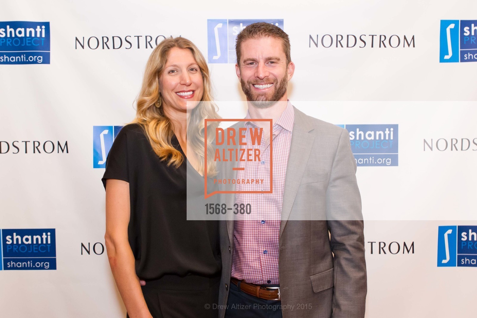 Heidi Hudson, Ryan Hudson, Shanti Project 41st Annual Compassion is Universal Dinner, Palace Hotel. 2 New Montgomery St, October 14th, 2015,Drew Altizer, Drew Altizer Photography, full-service agency, private events, San Francisco photographer, photographer california
