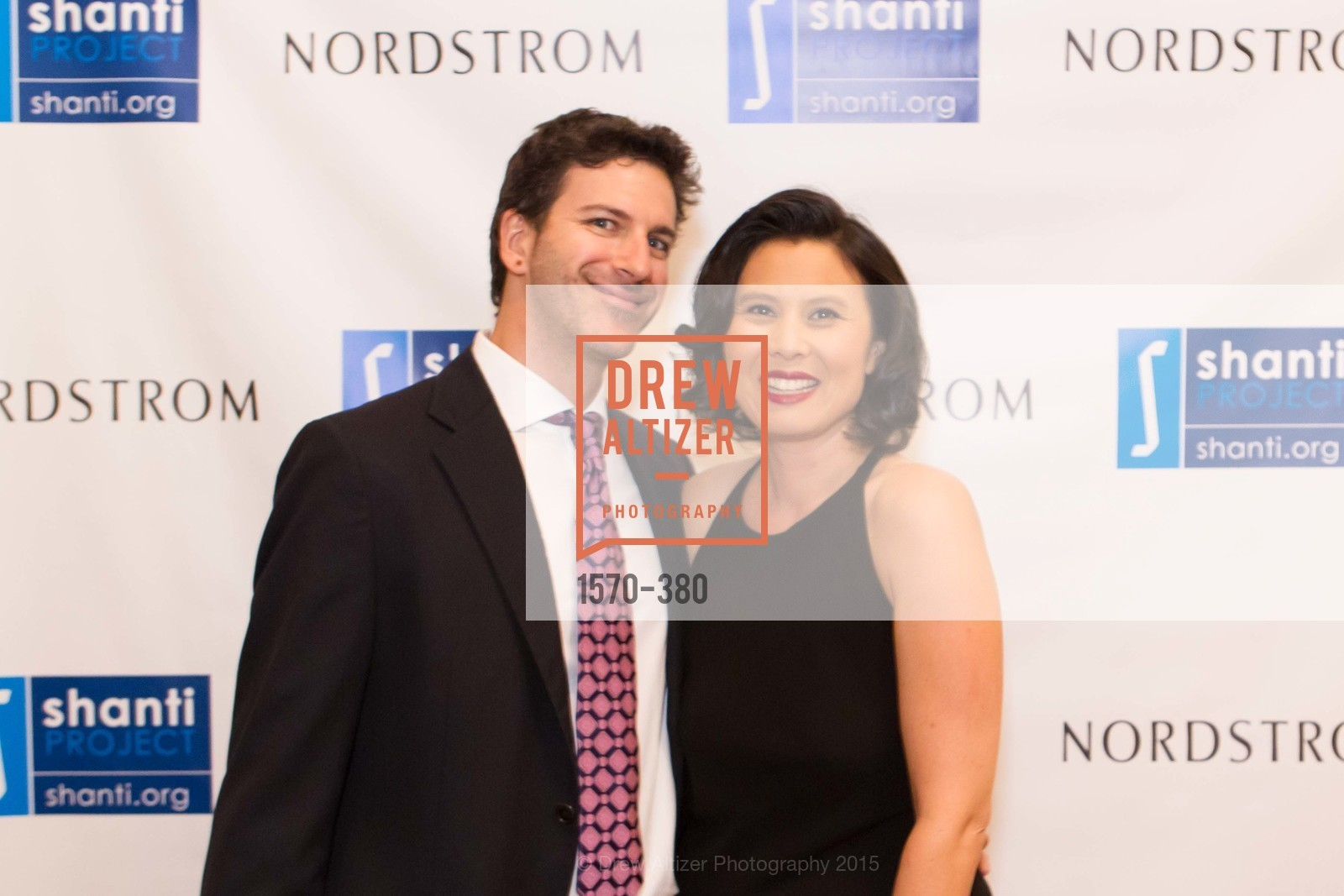 Aiden Stein, Diane Georgetti, Shanti Project 41st Annual Compassion is Universal Dinner, Palace Hotel. 2 New Montgomery St, October 14th, 2015,Drew Altizer, Drew Altizer Photography, full-service agency, private events, San Francisco photographer, photographer california