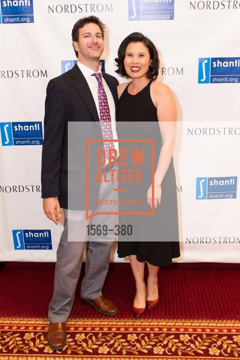 Aiden Stein, Diane Georgetti, Shanti Project 41st Annual Compassion is Universal Dinner, Palace Hotel. 2 New Montgomery St, October 14th, 2015,Drew Altizer, Drew Altizer Photography, full-service event agency, private events, San Francisco photographer, photographer California