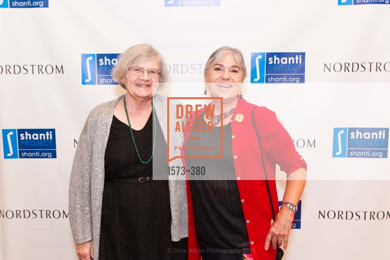 Shirley Barger, Robin Roth, Shanti Project 41st Annual Compassion is Universal Dinner, Palace Hotel. 2 New Montgomery St, October 14th, 2015,Drew Altizer, Drew Altizer Photography, full-service agency, private events, San Francisco photographer, photographer california