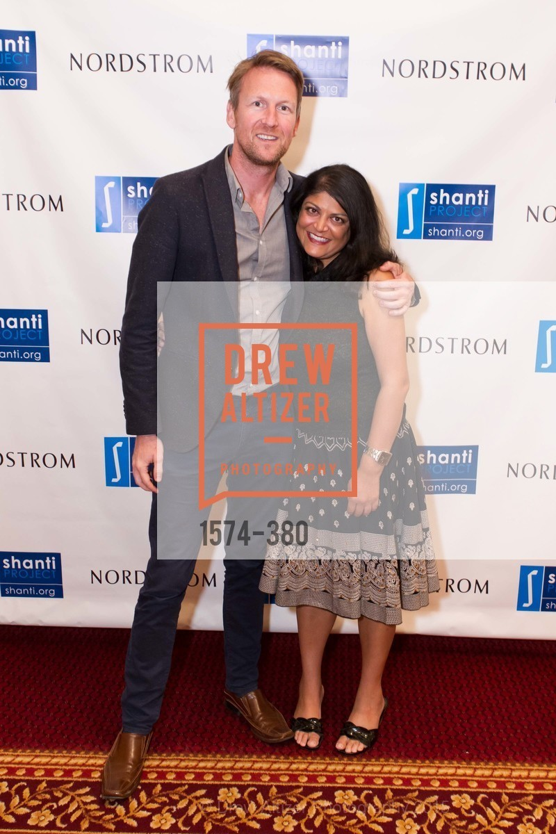 Paul Day, Shilpa Patel, Shanti Project 41st Annual Compassion is Universal Dinner, Palace Hotel. 2 New Montgomery St, October 14th, 2015,Drew Altizer, Drew Altizer Photography, full-service agency, private events, San Francisco photographer, photographer california
