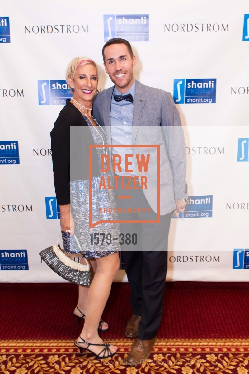 Nina Grossman, Scott Golden, Shanti Project 41st Annual Compassion is Universal Dinner, Palace Hotel. 2 New Montgomery St, October 14th, 2015,Drew Altizer, Drew Altizer Photography, full-service agency, private events, San Francisco photographer, photographer california