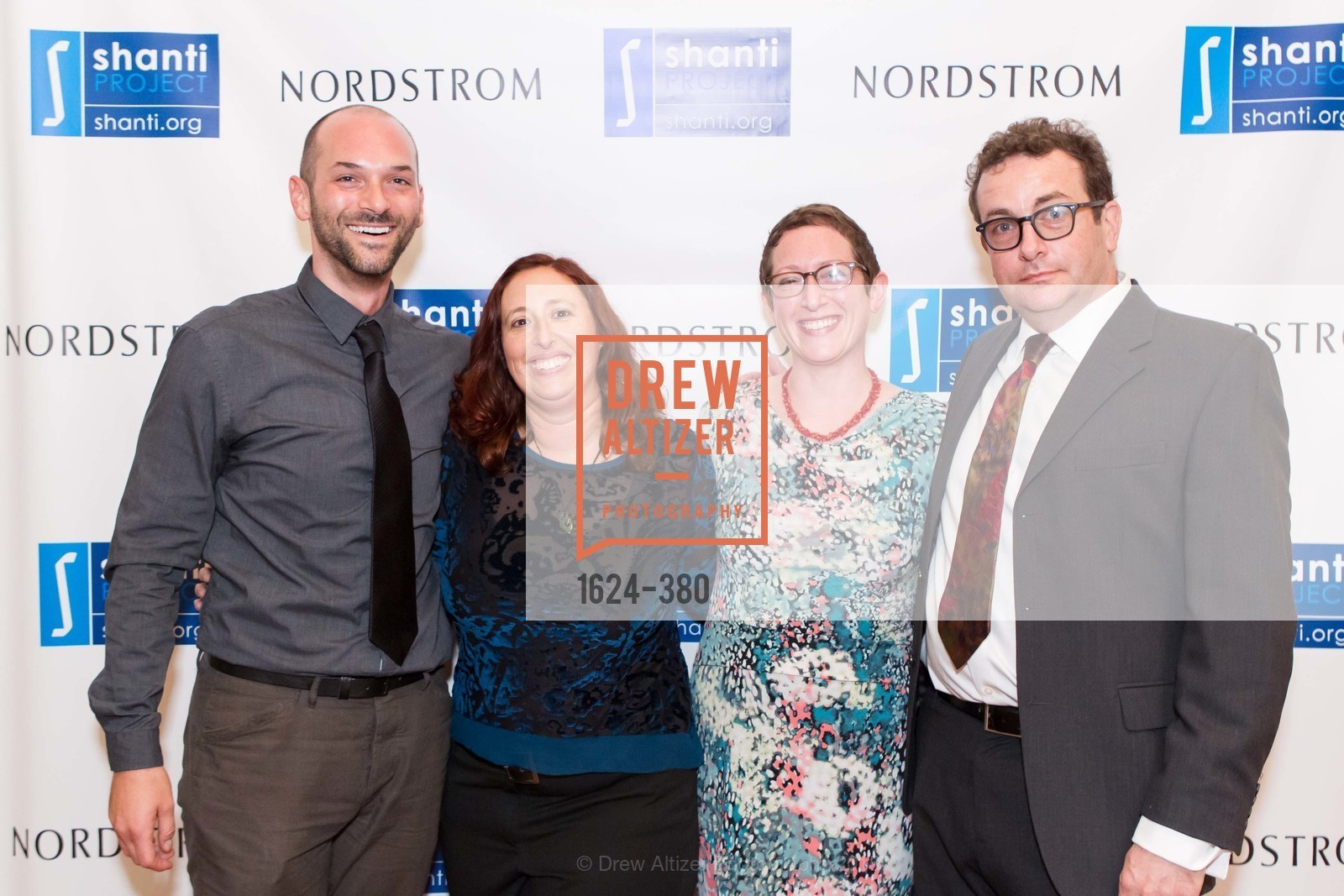Ryan Gonzales, Rachel Silverstein, Abigail Ehrans, Nicholas Shoen, Shanti Project 41st Annual Compassion is Universal Dinner, Palace Hotel. 2 New Montgomery St, October 14th, 2015,Drew Altizer, Drew Altizer Photography, full-service agency, private events, San Francisco photographer, photographer california