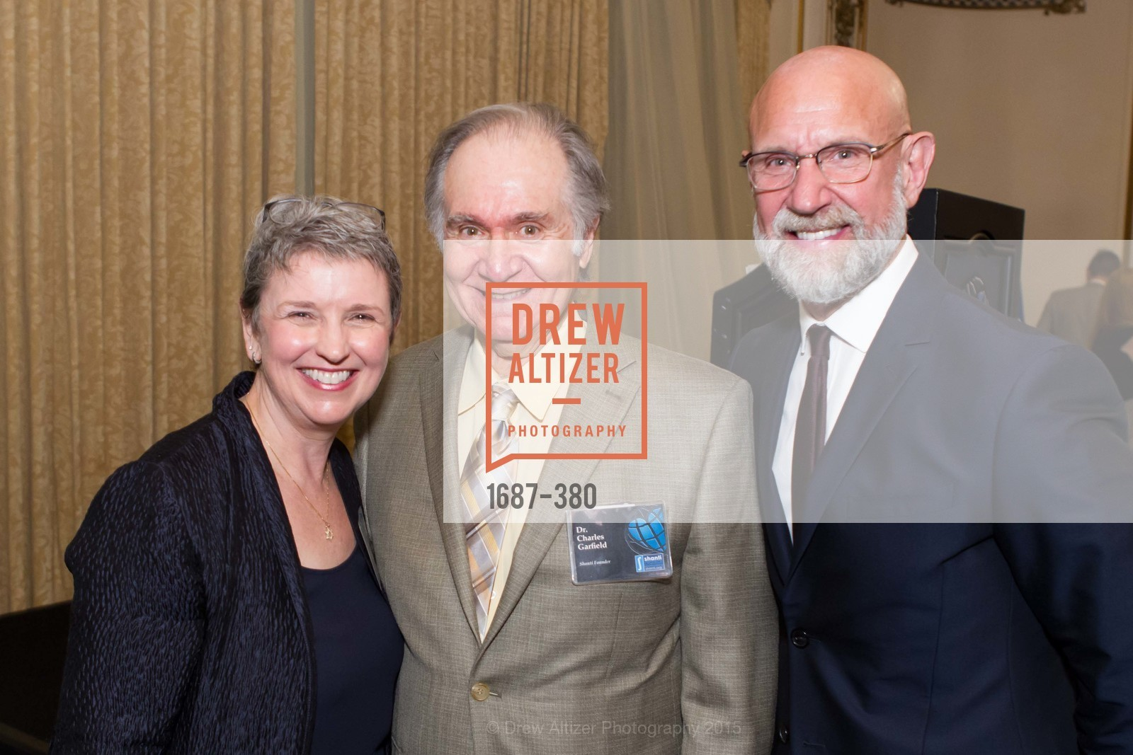 Constance Norton, Charles Garfield, Frank Petkovich, Shanti Project 41st Annual Compassion is Universal Dinner, Palace Hotel. 2 New Montgomery St, October 14th, 2015,Drew Altizer, Drew Altizer Photography, full-service agency, private events, San Francisco photographer, photographer california