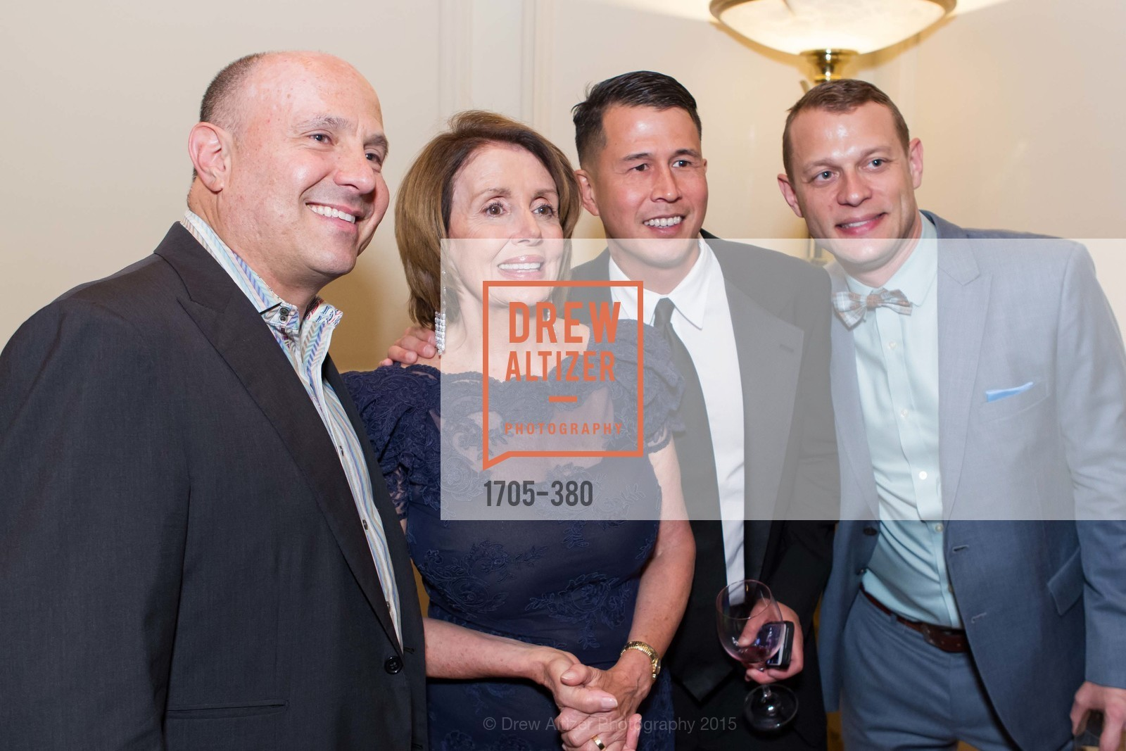 Adam Burman, Nancy Pelosi, Ben Hu, Shanti Project 41st Annual Compassion is Universal Dinner, Palace Hotel. 2 New Montgomery St, October 14th, 2015,Drew Altizer, Drew Altizer Photography, full-service agency, private events, San Francisco photographer, photographer california