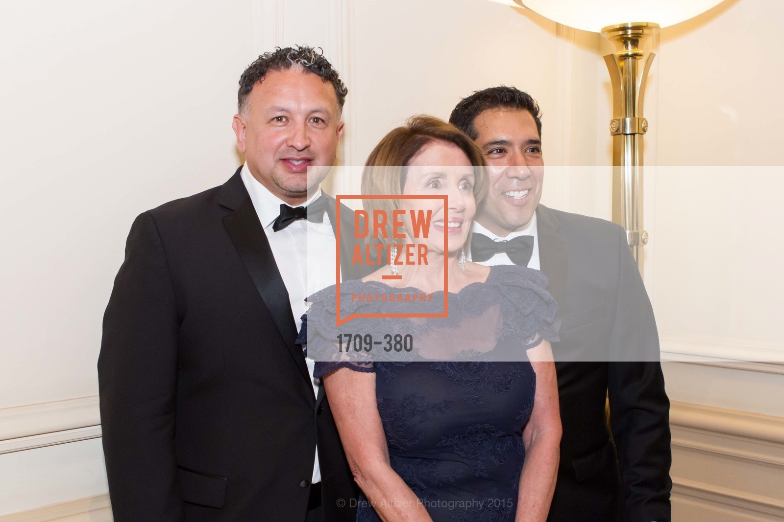 Miguel Bustos, Nancy Pelosi, Alex Rivera, Shanti Project 41st Annual Compassion is Universal Dinner, Palace Hotel. 2 New Montgomery St, October 14th, 2015,Drew Altizer, Drew Altizer Photography, full-service agency, private events, San Francisco photographer, photographer california