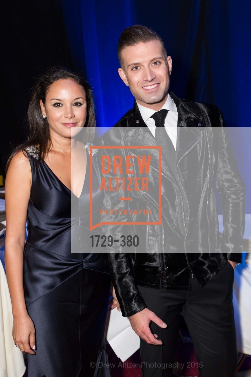 Bahya Oumil-Murad, Omar Sharif Jr., Shanti Project 41st Annual Compassion is Universal Dinner, Palace Hotel. 2 New Montgomery St, October 14th, 2015,Drew Altizer, Drew Altizer Photography, full-service event agency, private events, San Francisco photographer, photographer California