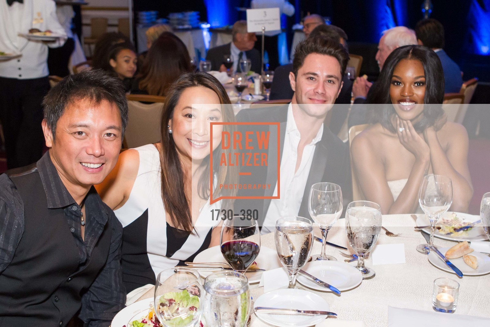 Chris Miramon, Jean Dee, Sasha Farber, Eugena Washington, Shanti Project 41st Annual Compassion is Universal Dinner, Palace Hotel. 2 New Montgomery St, October 14th, 2015,Drew Altizer, Drew Altizer Photography, full-service agency, private events, San Francisco photographer, photographer california