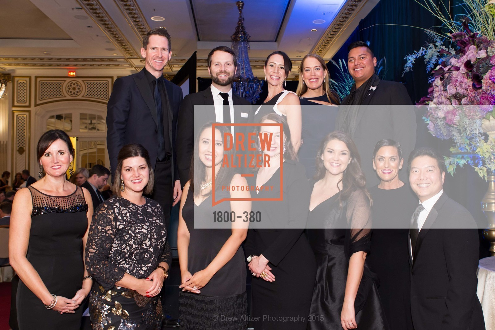 Group Photo, Shanti Project 41st Annual Compassion is Universal Dinner, Palace Hotel. 2 New Montgomery St, October 14th, 2015,Drew Altizer, Drew Altizer Photography, full-service agency, private events, San Francisco photographer, photographer california
