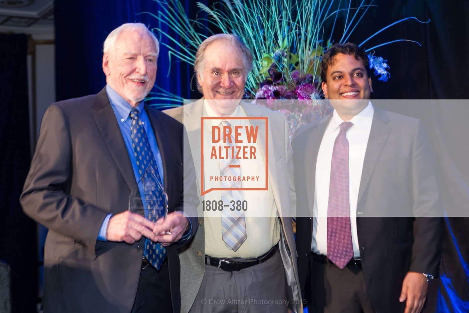 James Hormel, Charles Garfield, Kaushik Roy, Shanti Project 41st Annual Compassion is Universal Dinner, Palace Hotel. 2 New Montgomery St, October 14th, 2015,Drew Altizer, Drew Altizer Photography, full-service agency, private events, San Francisco photographer, photographer california