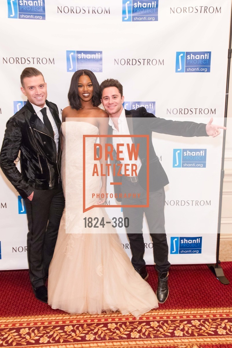 Omar Sharif Jr., Eugena Washington, Sasha Farber, Shanti Project 41st Annual Compassion is Universal Dinner, Palace Hotel. 2 New Montgomery St, October 14th, 2015,Drew Altizer, Drew Altizer Photography, full-service agency, private events, San Francisco photographer, photographer california