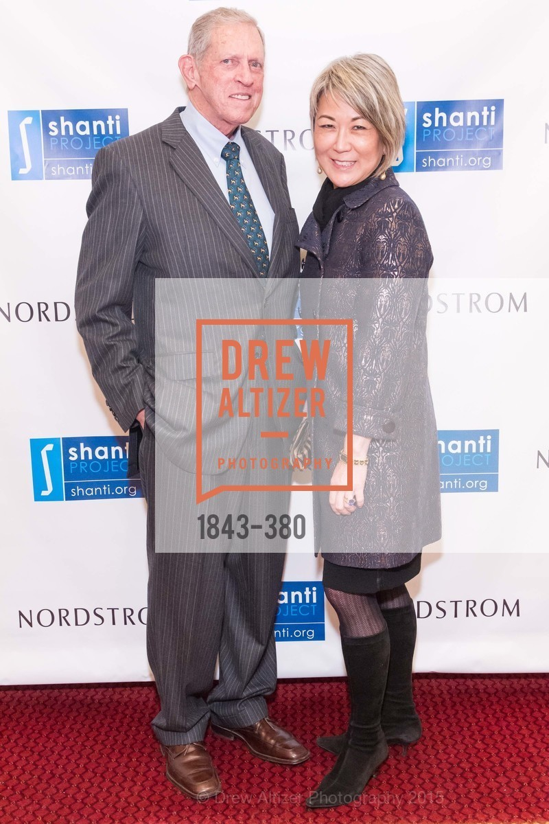 Karl Keesling, Sally Carlson, Shanti Project 41st Annual Compassion is Universal Dinner, Palace Hotel. 2 New Montgomery St, October 14th, 2015,Drew Altizer, Drew Altizer Photography, full-service agency, private events, San Francisco photographer, photographer california