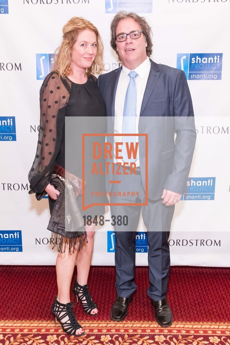 Nell Schwartz, Mark Nasser, Shanti Project 41st Annual Compassion is Universal Dinner, Palace Hotel. 2 New Montgomery St, October 14th, 2015,Drew Altizer, Drew Altizer Photography, full-service agency, private events, San Francisco photographer, photographer california