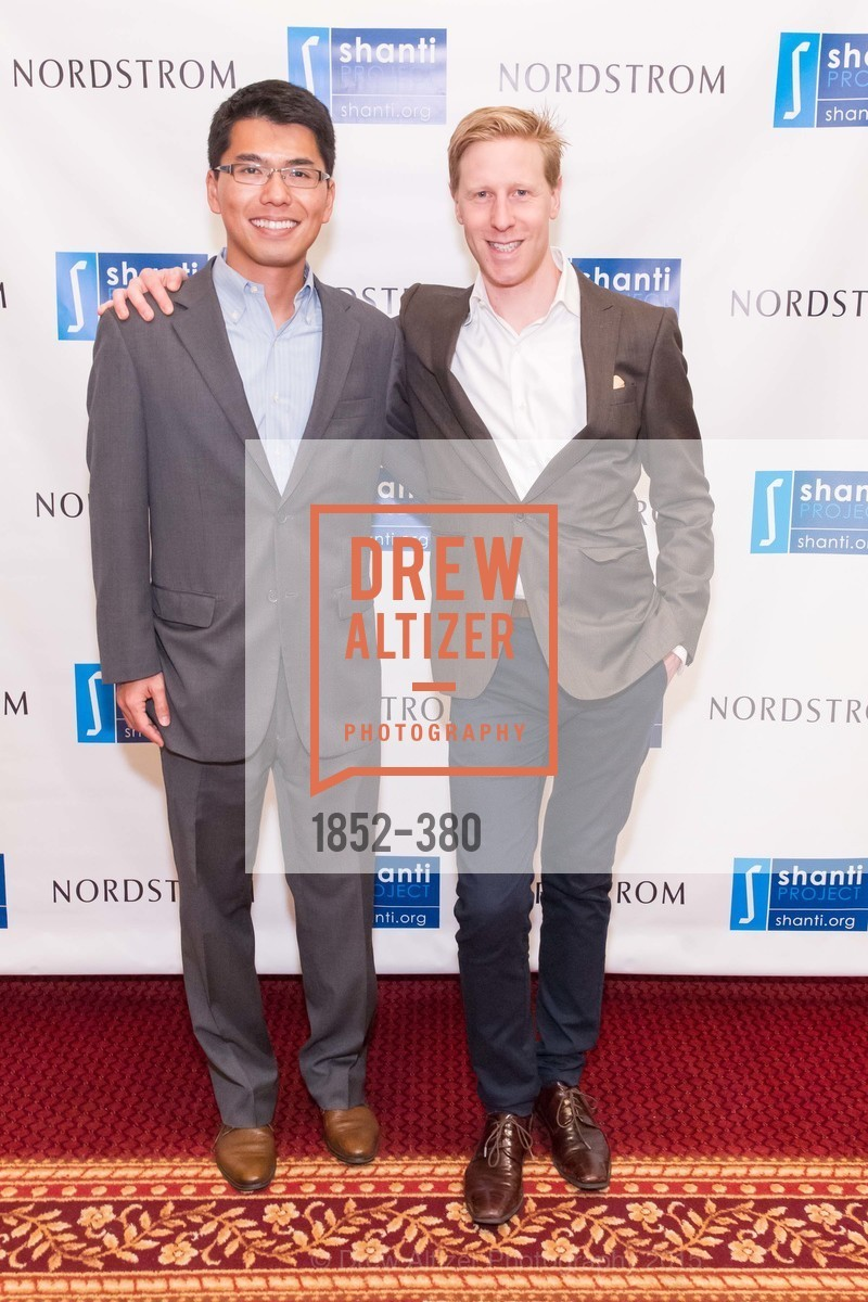 JIm Bu, Nathaniel Hanes, Shanti Project 41st Annual Compassion is Universal Dinner, Palace Hotel. 2 New Montgomery St, October 14th, 2015,Drew Altizer, Drew Altizer Photography, full-service agency, private events, San Francisco photographer, photographer california