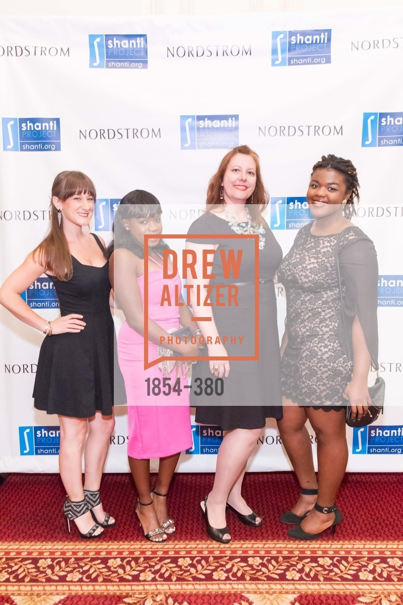 Heather Hargery, Linda Wollobengo, Heather Ripley, Jasmin Minzy, Shanti Project 41st Annual Compassion is Universal Dinner, Palace Hotel. 2 New Montgomery St, October 14th, 2015,Drew Altizer, Drew Altizer Photography, full-service agency, private events, San Francisco photographer, photographer california