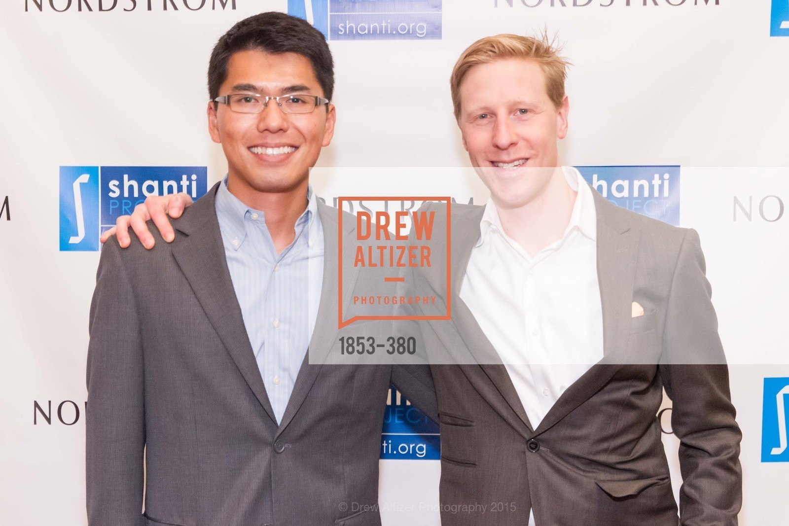 JIm Bu, Nathaniel Hanes, Shanti Project 41st Annual Compassion is Universal Dinner, Palace Hotel. 2 New Montgomery St, October 14th, 2015