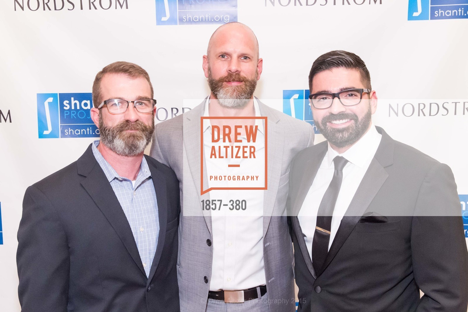 Russell Beats, Simon Keyes, Alejandro Villa, Shanti Project 41st Annual Compassion is Universal Dinner, Palace Hotel. 2 New Montgomery St, October 14th, 2015,Drew Altizer, Drew Altizer Photography, full-service agency, private events, San Francisco photographer, photographer california