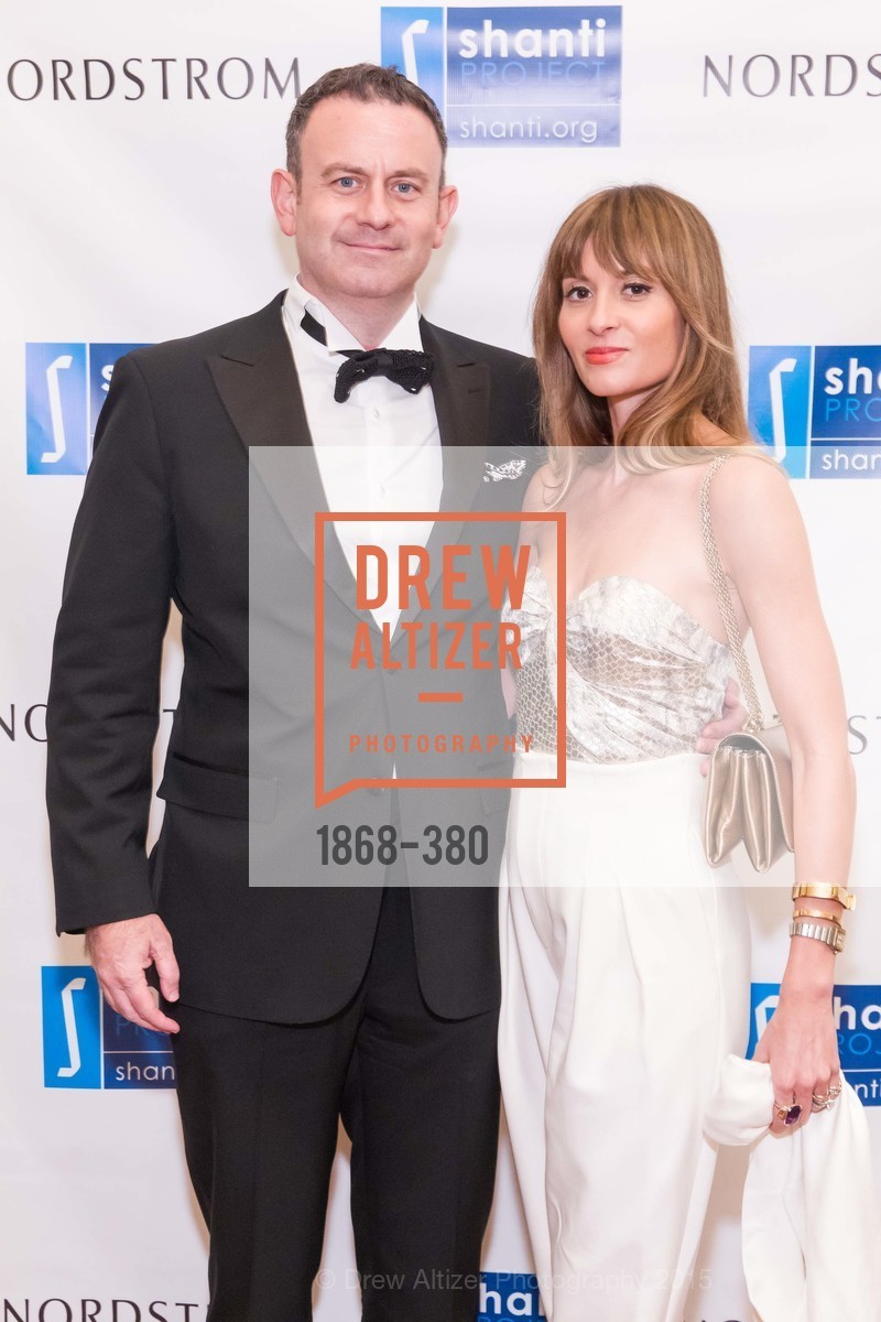 Jason Kinney, Mary Gonsalves Kinney, Shanti Project 41st Annual Compassion is Universal Dinner, Palace Hotel. 2 New Montgomery St, October 14th, 2015,Drew Altizer, Drew Altizer Photography, full-service agency, private events, San Francisco photographer, photographer california