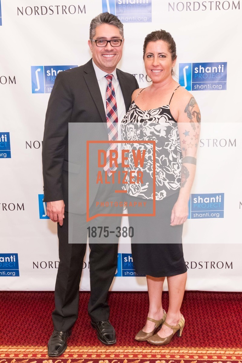 Anthony Lopez, Joy Kessler, Shanti Project 41st Annual Compassion is Universal Dinner, Palace Hotel. 2 New Montgomery St, October 14th, 2015,Drew Altizer, Drew Altizer Photography, full-service agency, private events, San Francisco photographer, photographer california