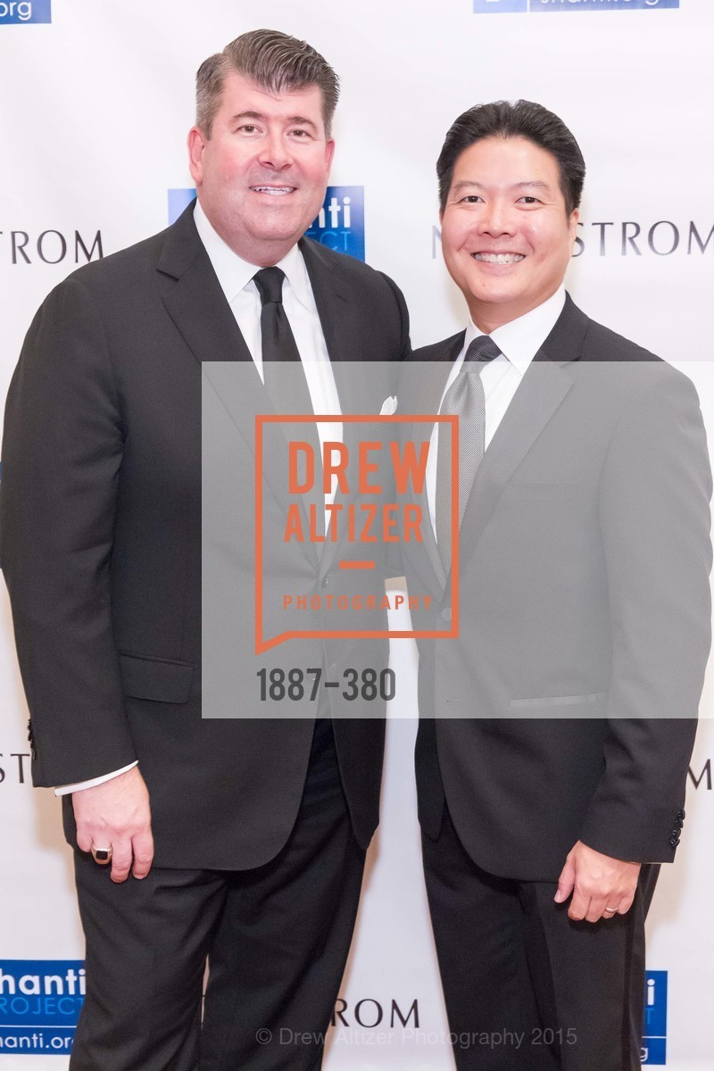 Alan Morrell, Kenneth Ma, Shanti Project 41st Annual Compassion is Universal Dinner, Palace Hotel. 2 New Montgomery St, October 14th, 2015,Drew Altizer, Drew Altizer Photography, full-service agency, private events, San Francisco photographer, photographer california